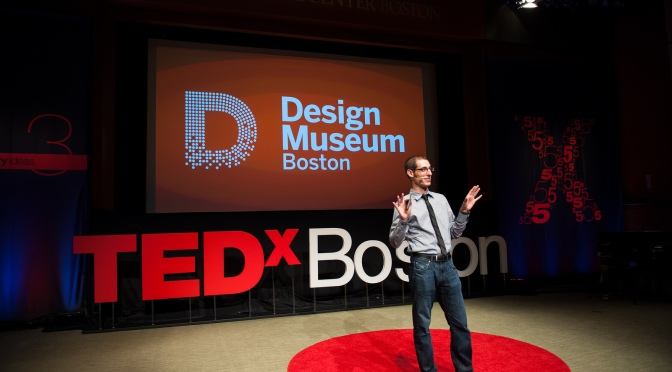 Speaking at TEDxBoston 2013